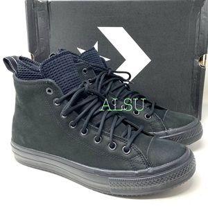 Converse Ctas Waterproof Boot High Suede Black M